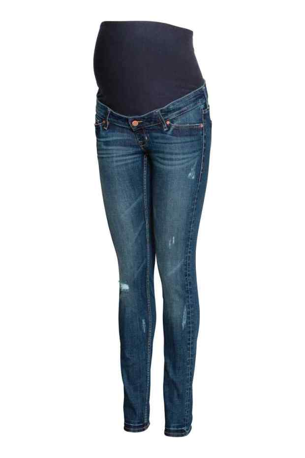 H & M Maternity Jeans | flimsylion.com