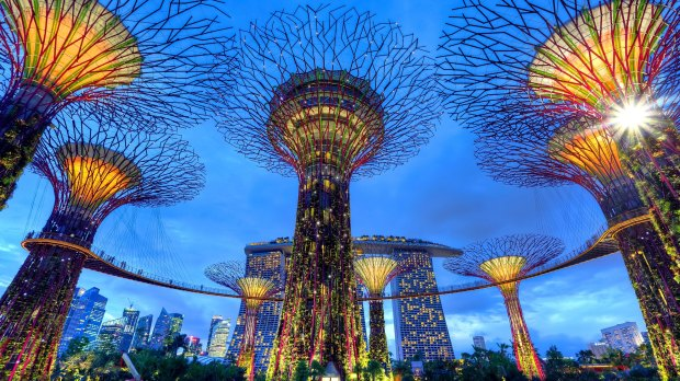 Gardens by the Bay, Singapore | flimsylion.com